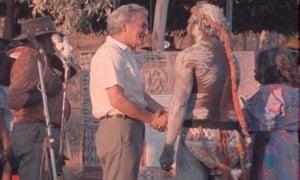 Bob Hawke and Galarrwuy Yunupingu