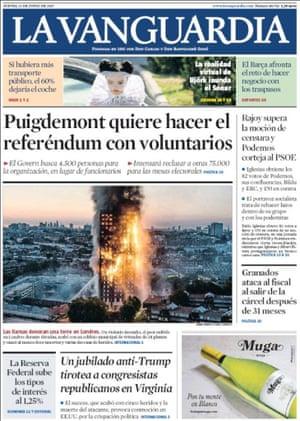 La Vanguardia, Spain