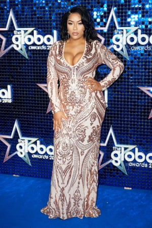 Red Carpet arrivals at The Global Entertainment Awards held at the Hammersmith Apollo London Featuring: Stefflon Don Where: London, United Kingdom When: 01 Mar 2018 Credit: WENNMAEW5F Red Carpet arrivals at The Global Entertainment Awards held at the Hammersmith Apollo London Featuring: Stefflon Don Where: London, United Kingdom When: 01 Mar 2018 Credit: WENN