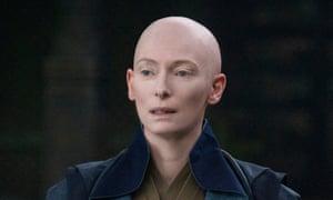 Tilda Swinton as the Ancient One in Marvel's Doctor Strange