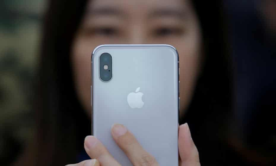 Apple announced Tuesday it sold 52.2m iPhones over the last quarter ending 31 March.