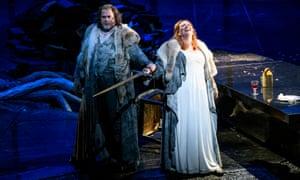 Stuart Skelton as Siegmund and Emily Magee as Sieglinde in Die Walküre