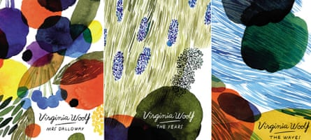 Analyse this … new Virginia Woolf covers from Vintage.