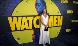 Cultured … Kassell at the premiere of Watchmen in October 2019.