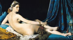 La Grande Odalisque by Ingres (1814). Degas owned a study Ingres made for this work.