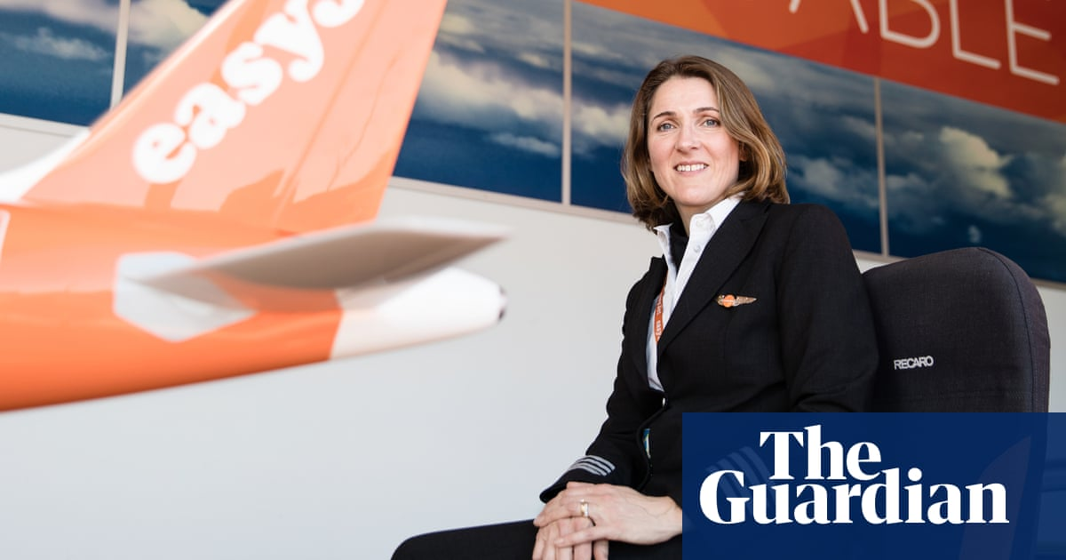 What's life like for a female easyJet pilot?   World news