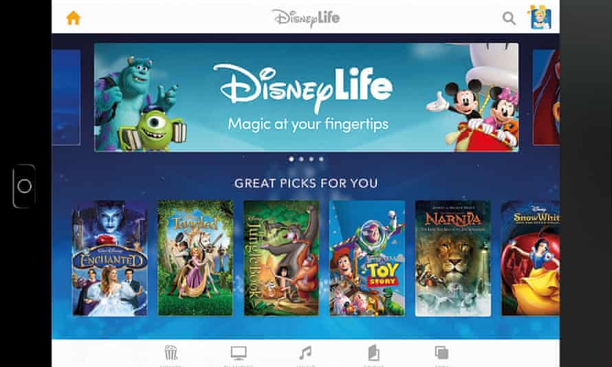 Infinite loop … Disney subscription means endless viewing