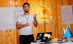 Azeri LGBTI activist Javid Nabiyev in 2012.