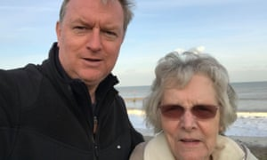 Russ Cummings and his mother, Evelyn