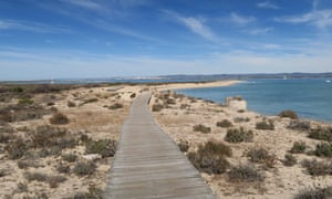 Ilha Deserta in the National Park Ria Formosa below Faro