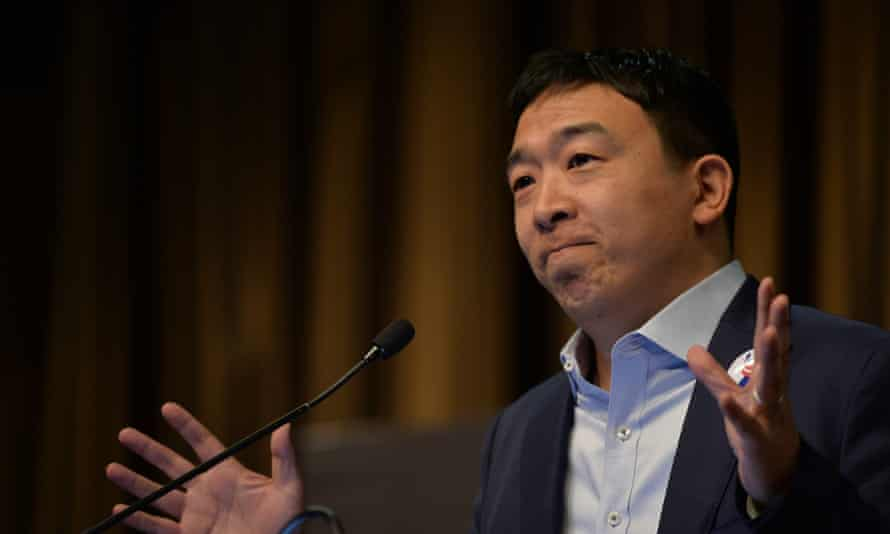 'Among 2020 Democratic candidates, it is entrepreneur Andrew Yang who has proposed the largest cash transfer program that would benefit the poor.'