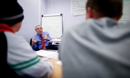 An employment coach helps long-term unemployed people in Hull