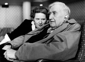 Ursula and Ralph Vaughan Williams in 1957.