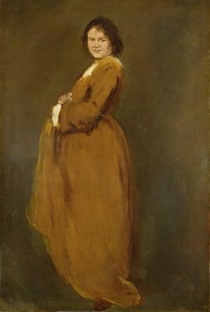 Augustus John's 1901 portrait of his wife Ida