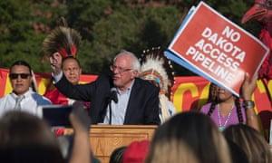 Bernie Sanders Dakota pipeline speech
