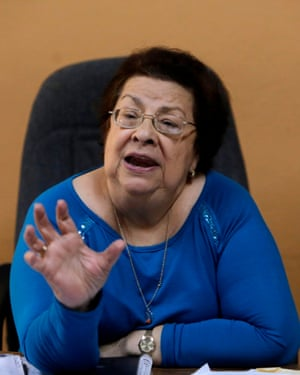 Vilma Núñez, president of the Nicaraguan Centre for Human Rights.