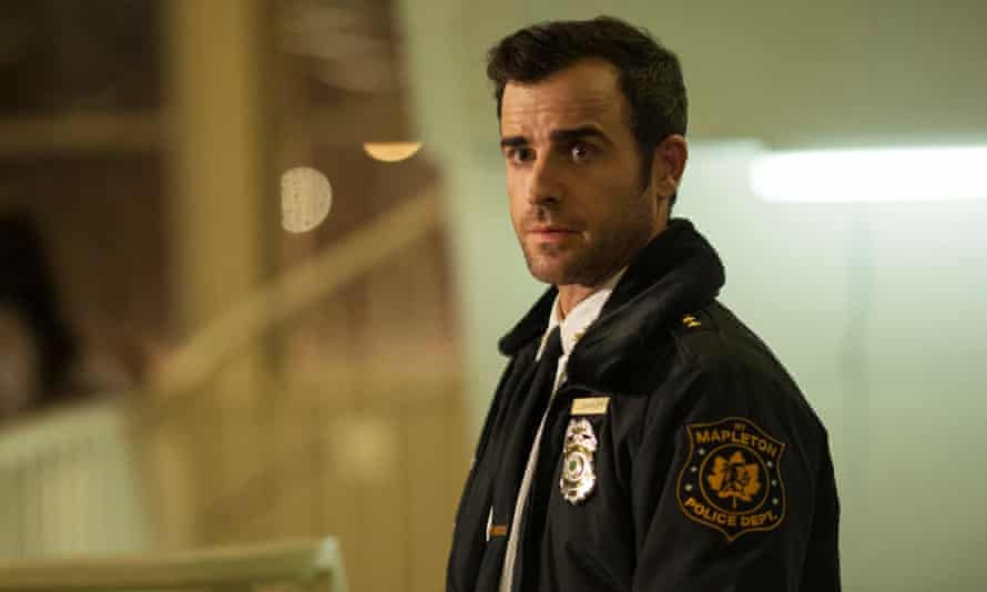 Justin Theroux as police chief Kevin Garvey Jr in The Leftovers