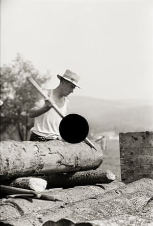 Lumber mill worker, Lowell, Vermont. 1937