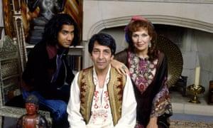 The BBC adaptation of The Buddha of Suburbia, 1993.