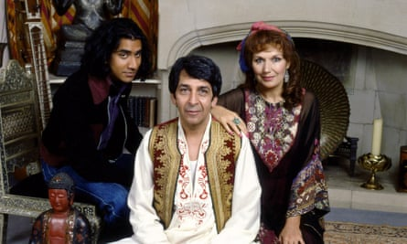 'Almost' English ... the 1993 BBC adaptation of The Buddha of Suburbia, starring Naveen Andrews (left) as Karim Amir.