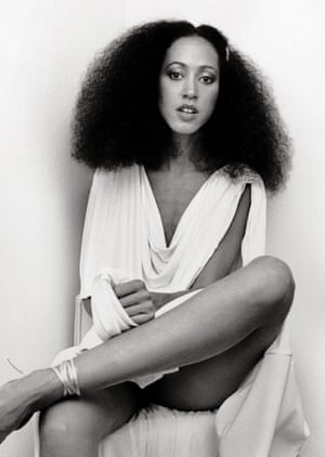 Pat Cleveland is an angel and we don't deserve her. Each time she blesses us with a runway appearance we need to stand and applaud. I love this Ron Galella photo of her. She's at a fashion show in New York in August 1997 wearing Halston and hanging out. It's a candid that has never been published. Sublime.