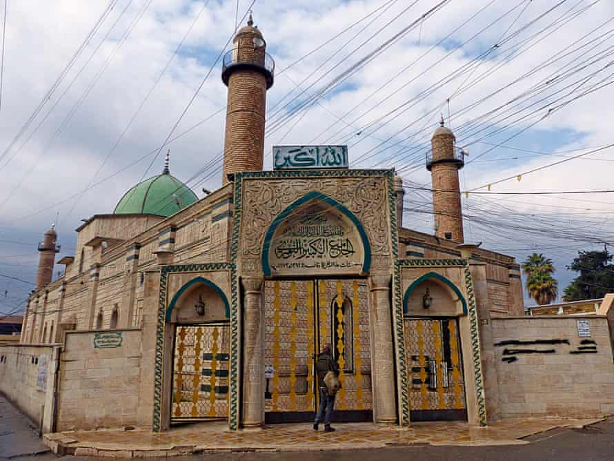 History was written in the Great Mosque of al-Nuri. But Isis did not allow us, as non-Muslims, to enter.