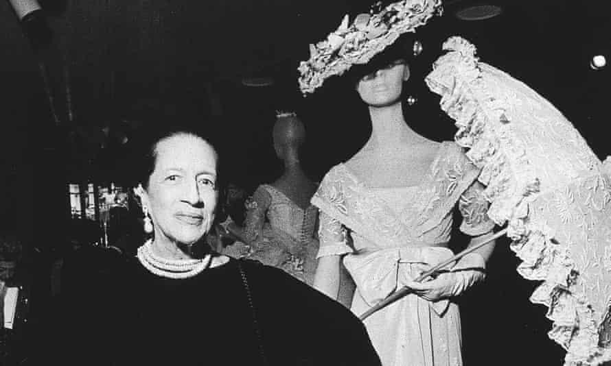 Diana Vreeland in New York in 1974.
