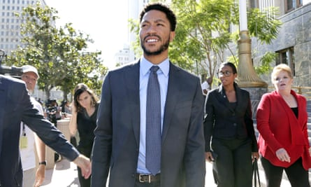 Derrick Rose's lawyer depicted the plaintiff as a manipulative liar who preyed on the stereotype of black men in order to extract a fortune.