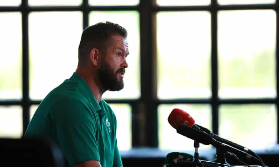 Andy Farrell now has to make the tough decisions as Ireland's top man.