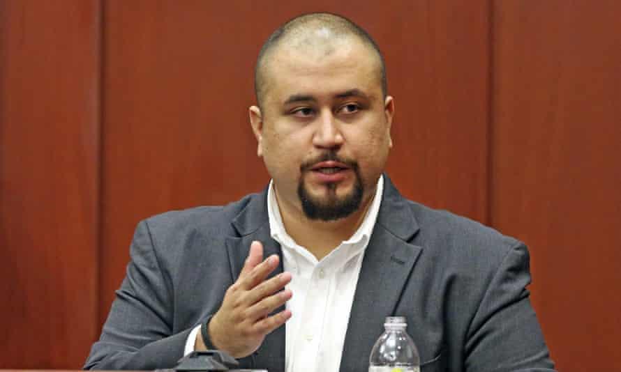 George Zimmerman testifies in Orlando, Florida, on 13 September 2016.