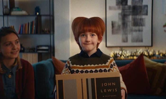 John Lewis & Partners Christmas Ad 2021 Peace And Goodwill To All Except Pigeons John Lewis Spreads The Love With Its Christmas Advert Television The Guardian