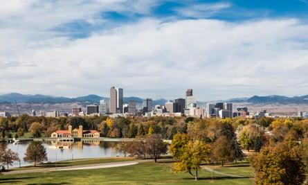 Denver skyline, Colorado.
