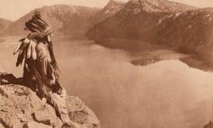 Crater Lake by Edward Curtis, 1923