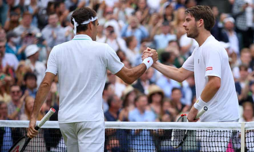 Roger Federer holds off Cameron Norrie fightback to move on at Wimbledon    Wimbledon   The Guardian