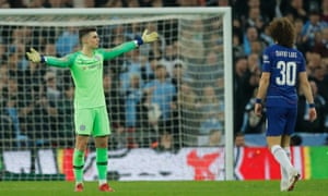 Chelsea keeper Kepa refuses to be substituted