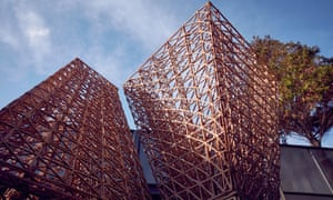 Bio-bricks by Arthur Mamou-Mani.