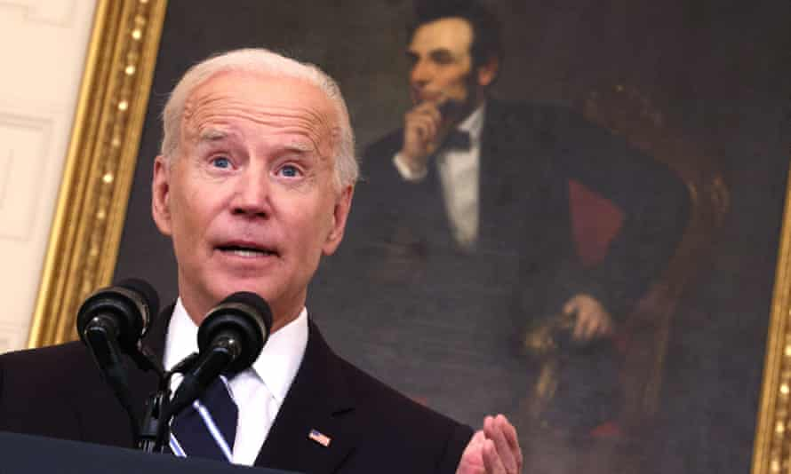 Biden speaks at White House