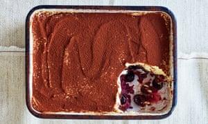 Thomasina Miers Poached Cherry And Chocolate Tiramisu