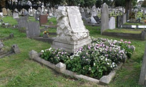 The children's grave at East London Cemetery.