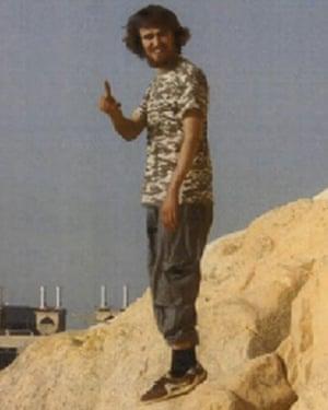 Jack Letts in Raqqa, Syria.