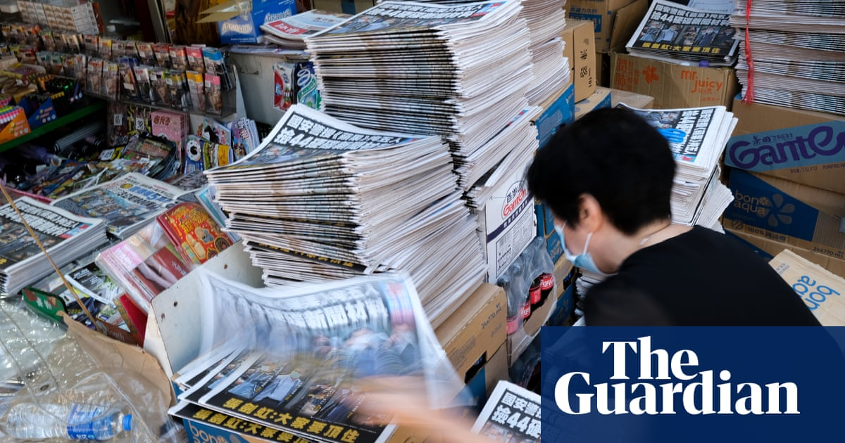 Hong Kong: Apple Daily staff treat 'every day like it is our last' as leaders appear in court
