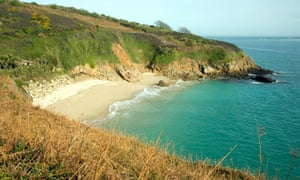 Belvoir bay and beach, Herm Island, Channel Islands, UK.