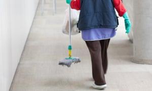 Female cleaner