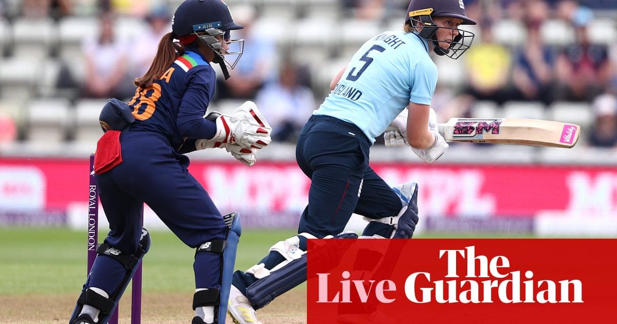 England v India: third women's ODI – live!