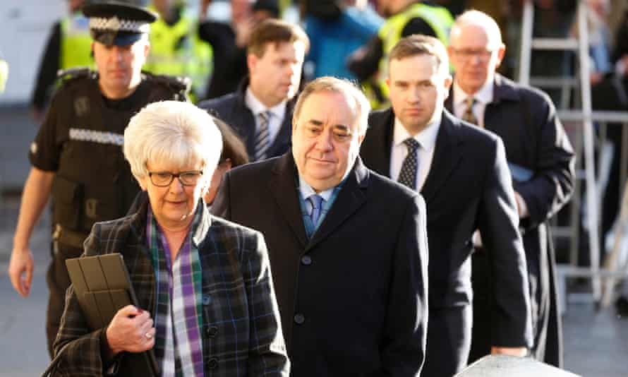 Salmond, 65, has strongly denied the allegations and pleaded not guilty.