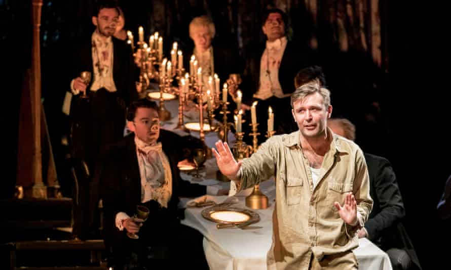 James McArdle in Peter Gynt at Olivier, London