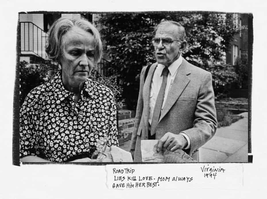 Donna Ferrato's parents, Virginia, 1994
