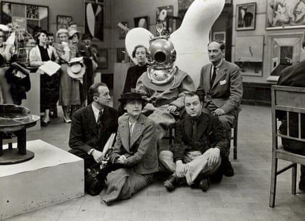 To the depths of the subconscious! … Dalî and friends at the 1936 show