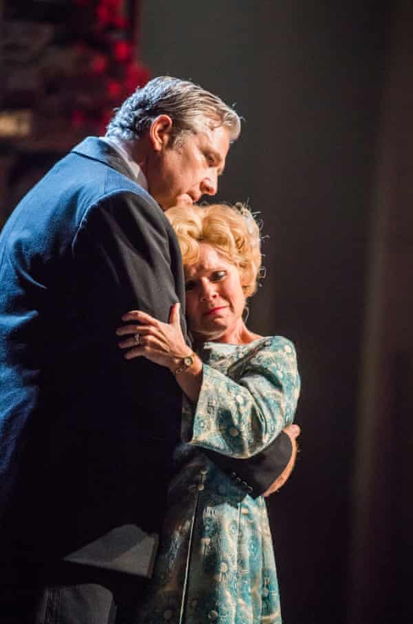 Philip Quast (Ben) and Imelda Staunton (Sally) in Follies.