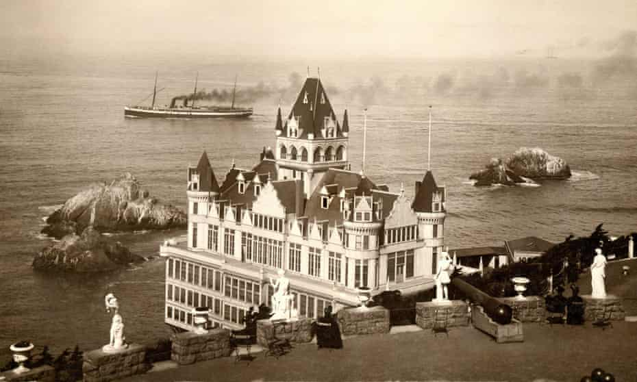 The Cliff House restaurant at San Francisco's Lands End was first built in 1863.
